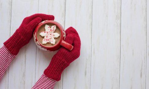 カフェ、あたたかい